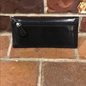 Coach Bags - COACH Black Slim Wallet